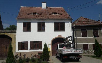 Casa Maria – montaj obloane de aluminiu in Selimbar, judetul Sibiu